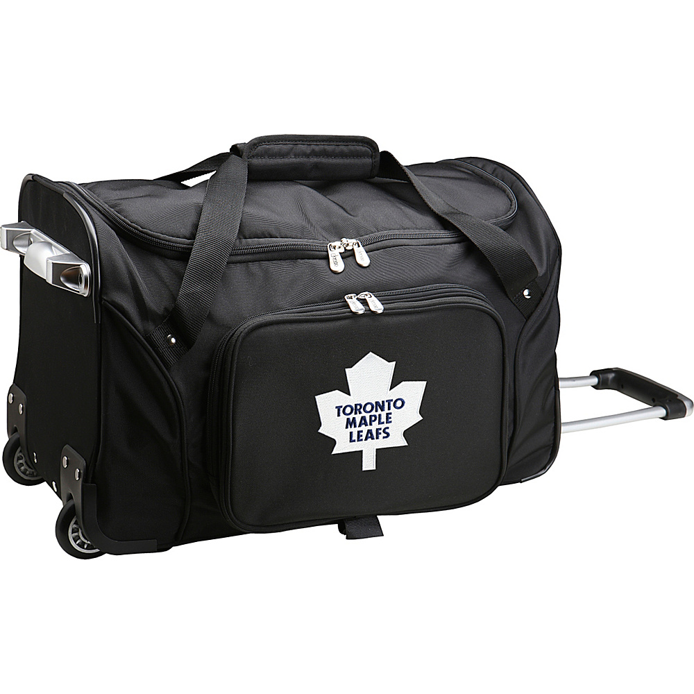 Denco Sports Luggage NHL 22 Rolling Duffel Toronto Maple Leafs - Denco Sports Luggage Rolling Duffels - Luggage, Rolling Duffels
