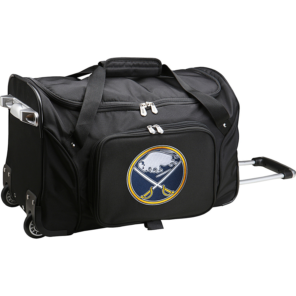 Denco Sports Luggage NHL 22 Rolling Duffel Buffalo Sabres - Denco Sports Luggage Rolling Duffels - Luggage, Rolling Duffels