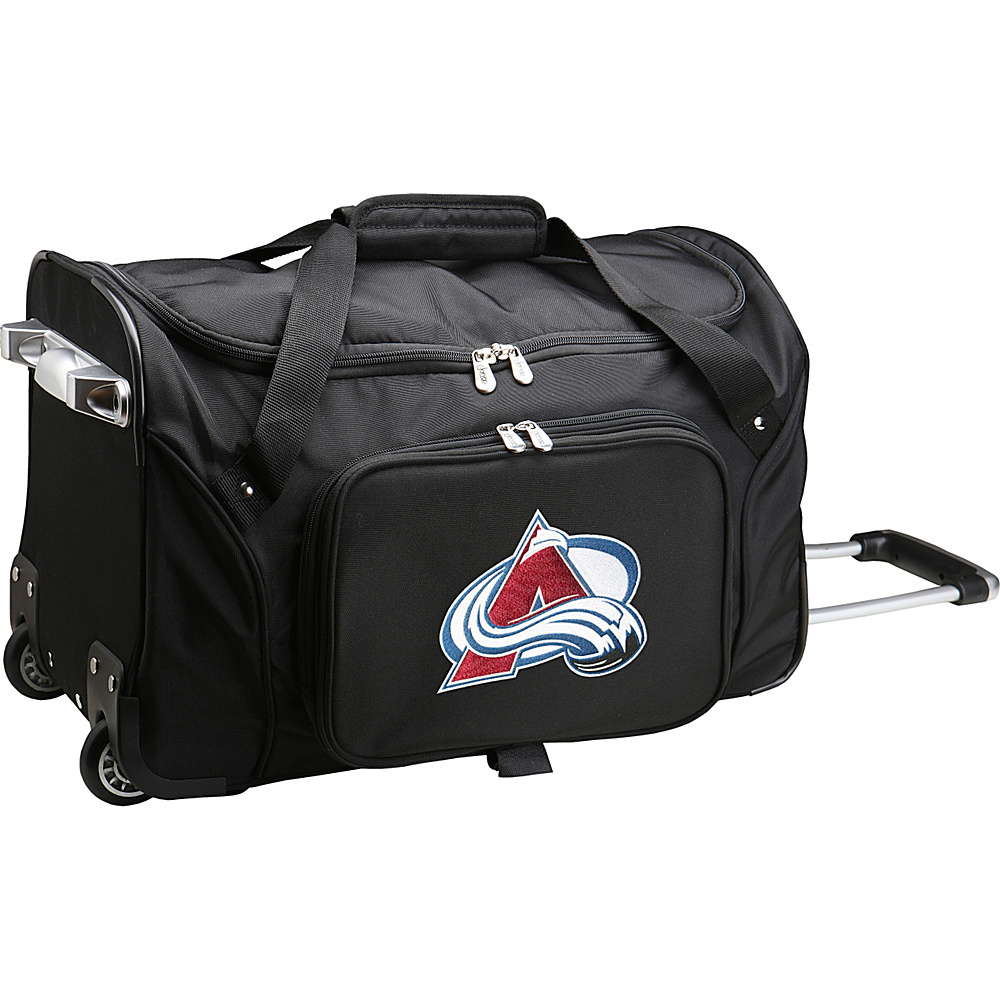 Denco Sports Luggage NHL 22 Rolling Duffel Colorado Avalanche - Denco Sports Luggage Rolling Duffels - Luggage, Rolling Duffels