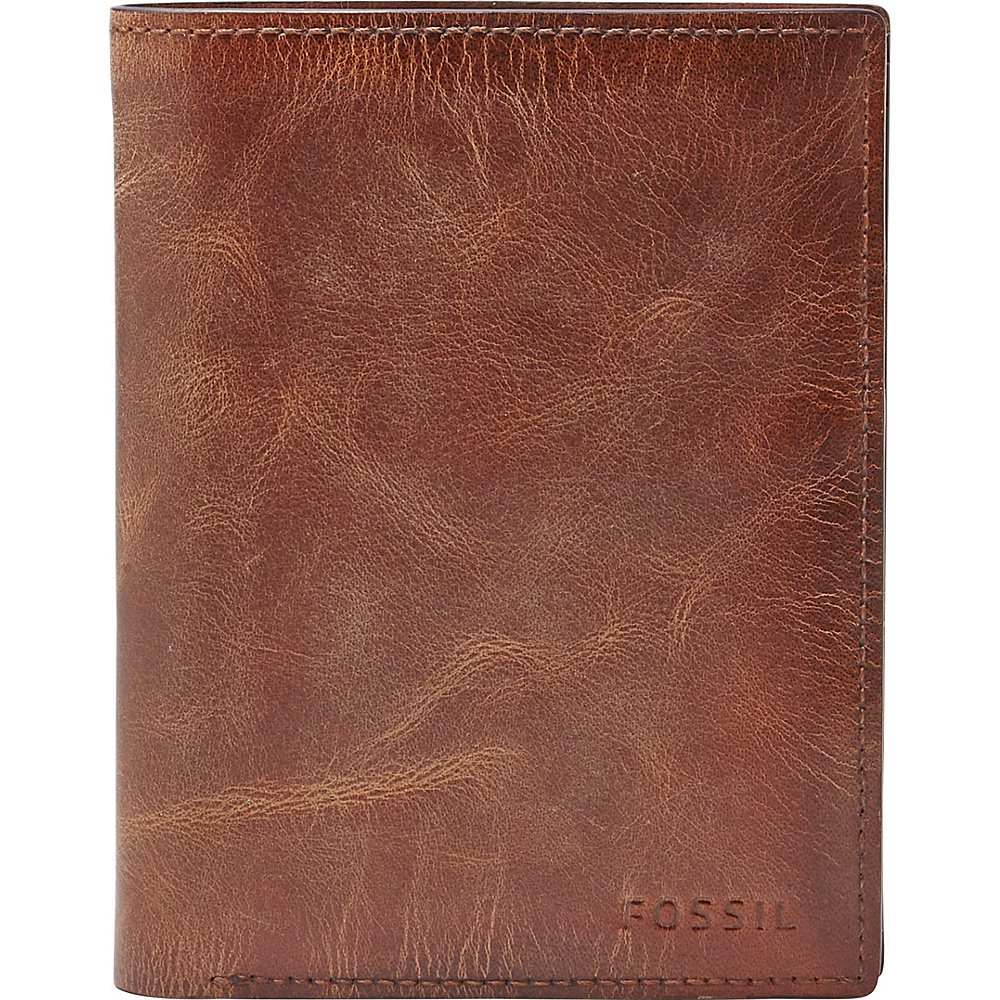 Fossil Derrick International Combination Brown - Fossil Mens Wallets - Work Bags & Briefcases, Men's Wallets