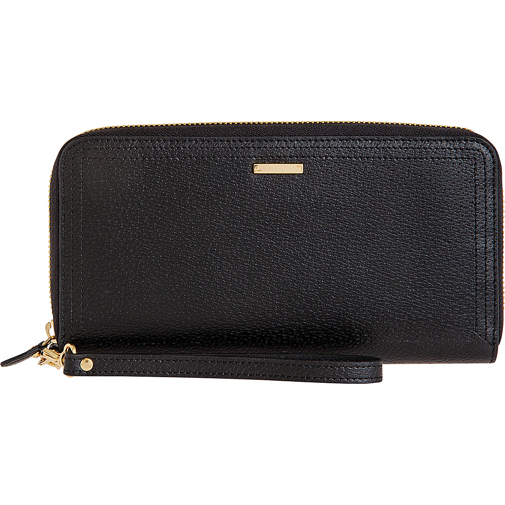 Lodis Stephanie Vera Wristlet Wallet with RFID Protection Black Lodis Women s Wallets