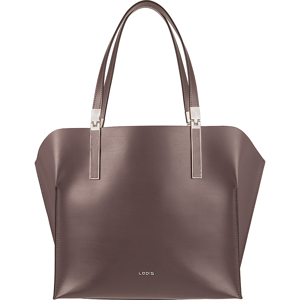 Lodis Blair Unlined Anita East West Multi-Function Satchel Lava/Taupe - Lodis Leather Handbags - Handbags, Leather Handbags