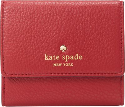 kate spade new york Cobble Hill Tavy Wallet Dynasty Red - kate spade new york Designer Ladies Wallets