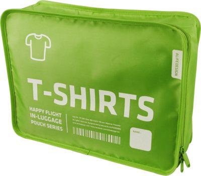 ALIFE DESIGN Alife Design T Shirt Packing Cubes Organizers Green - ALIFE DESIGN Travel Organizers