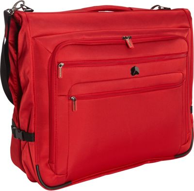 Delsey Helium Sky 2.0 B/O Garment Bag Red - Delsey Garment Bags