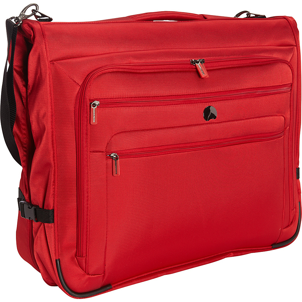 Delsey Helium Sky 2.0 B O Garment Bag Red Delsey Garment Bags
