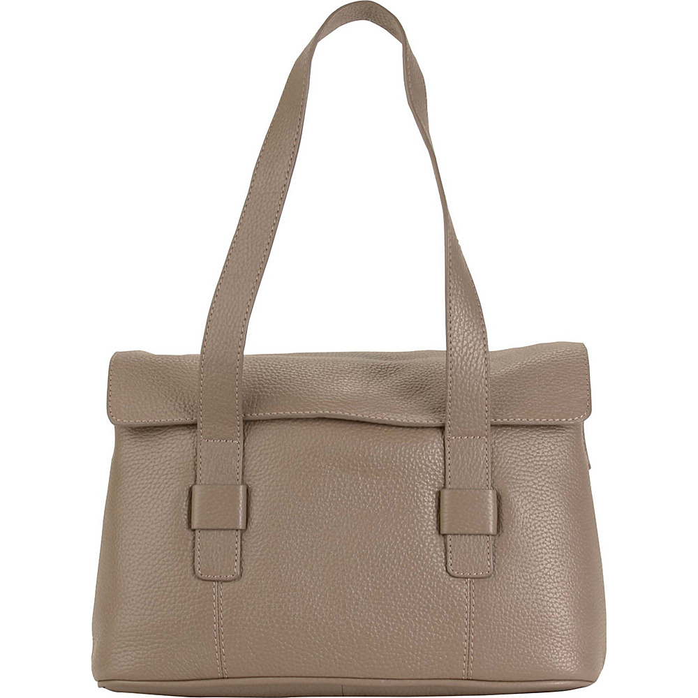 Hadaki Hannahs Shoulder Bag Taupe - Hadaki Leather Handbags - Handbags, Leather Handbags