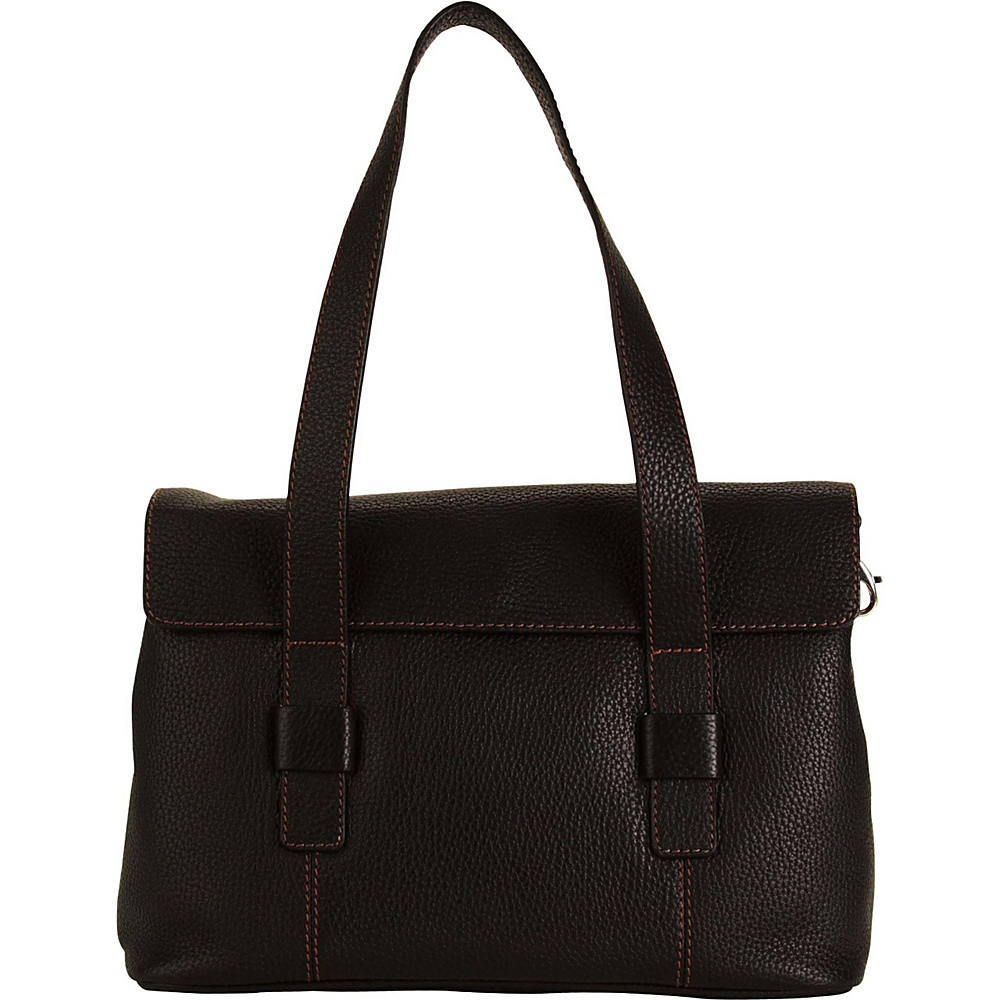 Hadaki Hannahs Shoulder Bag Black - Hadaki Leather Handbags - Handbags, Leather Handbags