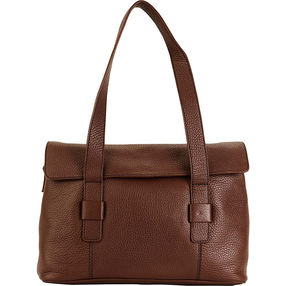 Hadaki Hannahs Shoulder Bag Cognac - Hadaki Leather Handbags - Handbags, Leather Handbags