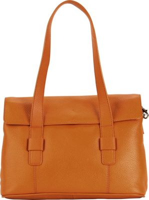 Hadaki Hannah's Shoulder Bag Russet - Hadaki Leather Handbags