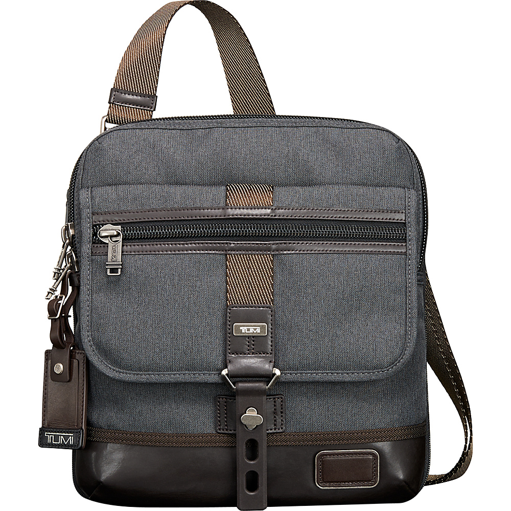 Tumi Alpha Bravo Annapolis Zip Flap Anthracite Tumi Other Men s Bags