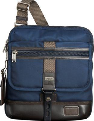 Tumi Alpha Bravo Annapolis Zip Flap Navy - Tumi Other Men's Bags
