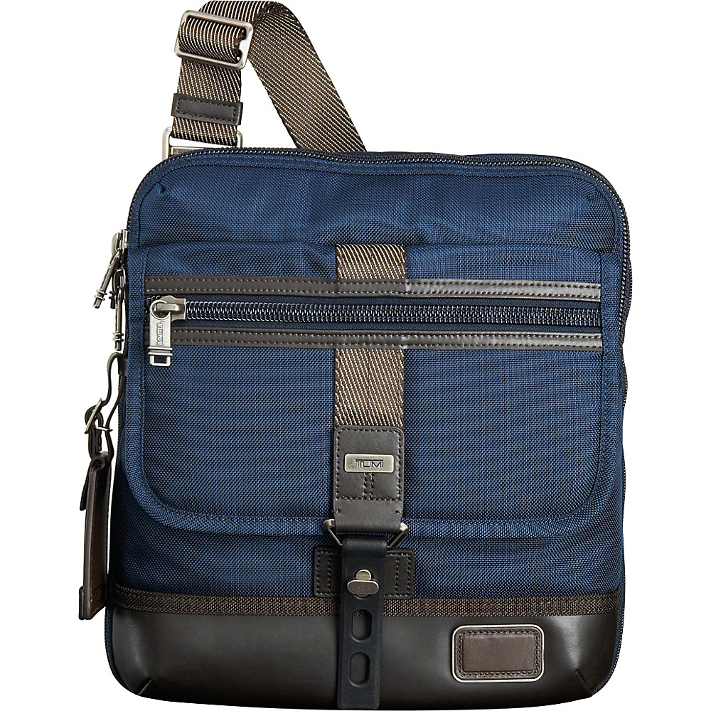 Tumi Alpha Bravo Annapolis Zip Flap Navy Tumi Other Men s Bags