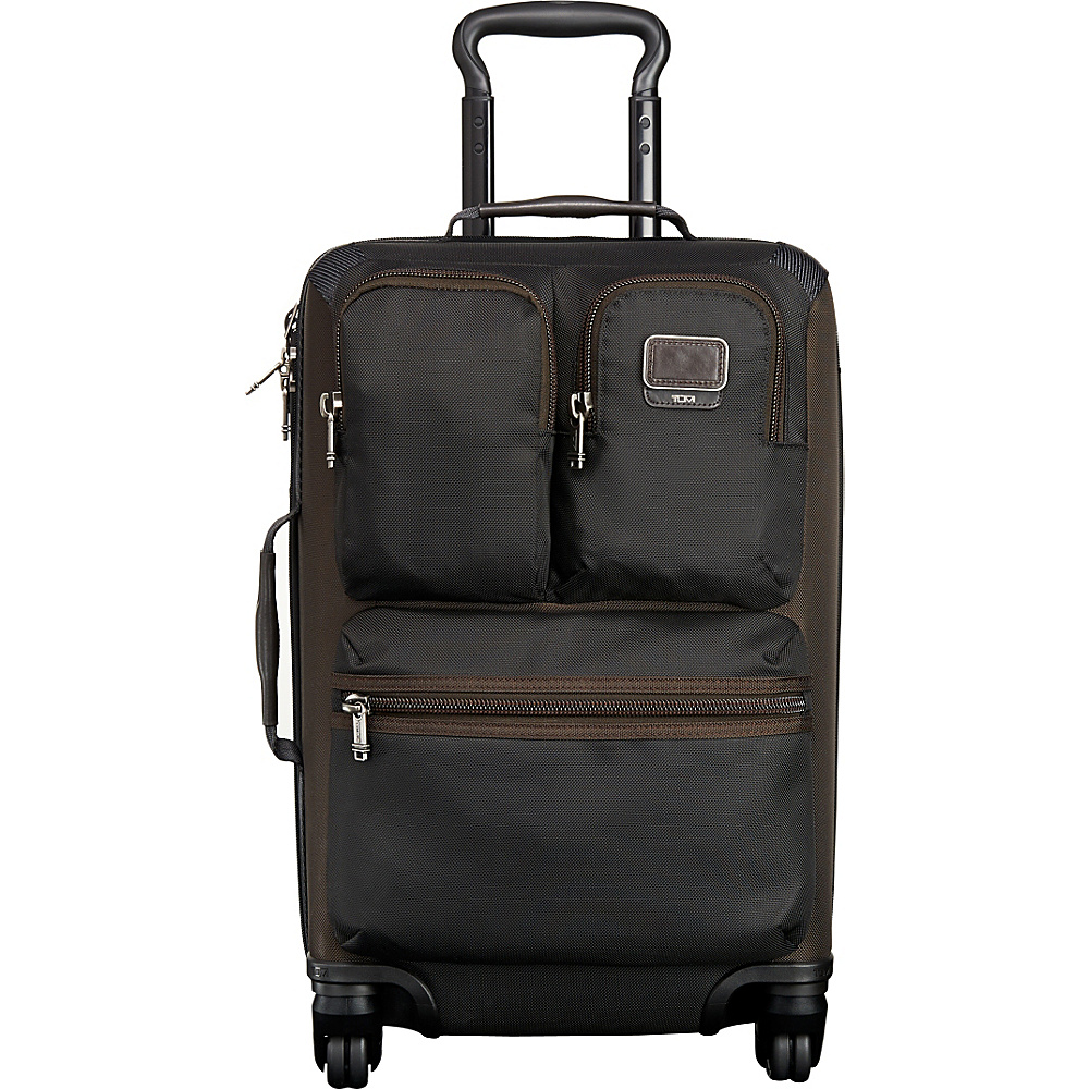 Tumi Alpha Bravo Kirtland International Expandable Carry-On Hickory - Tumi Softside Carry-On