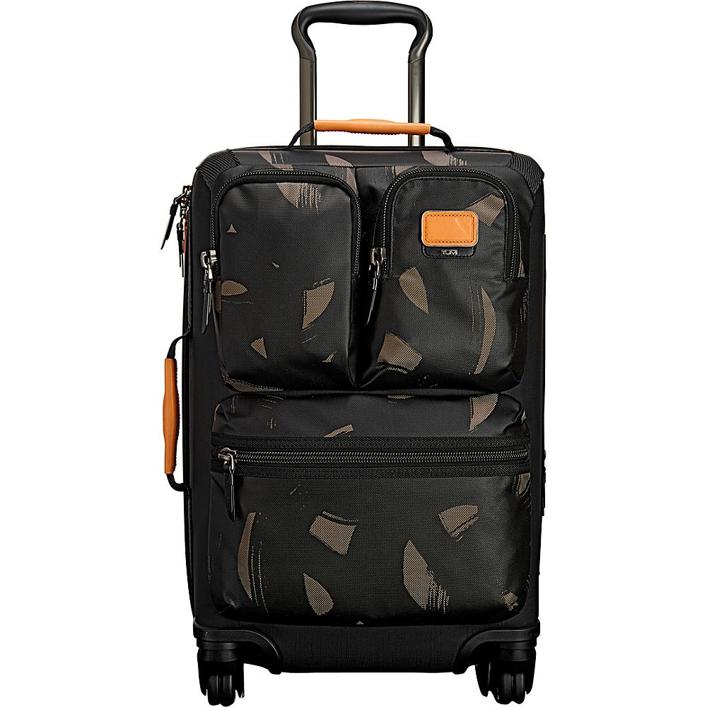 Tumi Alpha Bravo Kirtland International Expandable Carry-On Smoke Character Print - Tumi Small Rolling Luggage