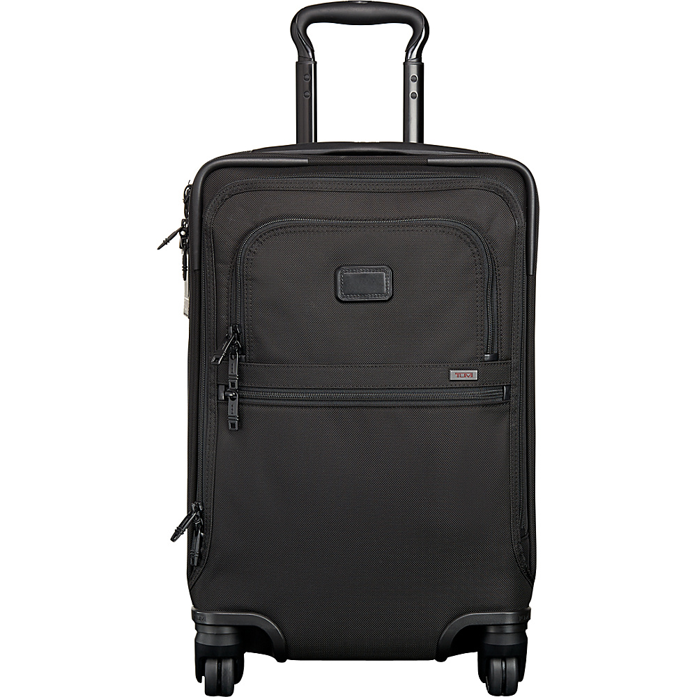 Tumi Alpha 2 4 Wheel International Office Carry-On Black D-2 - Tumi Softside Carry-On - Luggage, Softside Carry-On