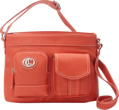 Aurielle-Carryland E/W Xbody Poppy - Aurielle-Carryland Manmade Handbags
