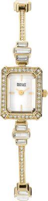 Image of Badgley Mischka Watches Crystal Bangle Watch Gold - Badgley Mischka Watches Watches