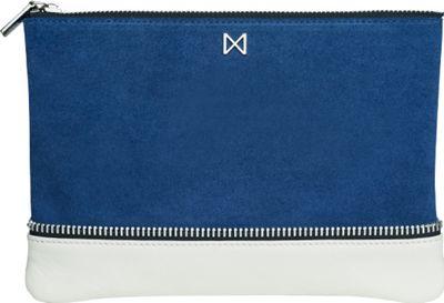 MOFE Sage Clutch Cobalt Blue/Ivory