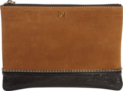 MOFE Sage Clutch Chestnut/Black