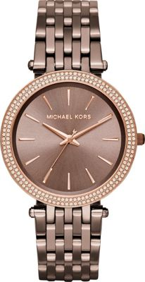 Michael Kors Watches Mini Darci Watch Brown - Michael Kor...