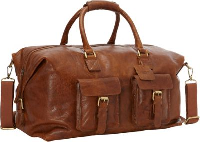 Rawlings Rugged 19 inch Duffel Cognac - Rawlings Travel Duffels