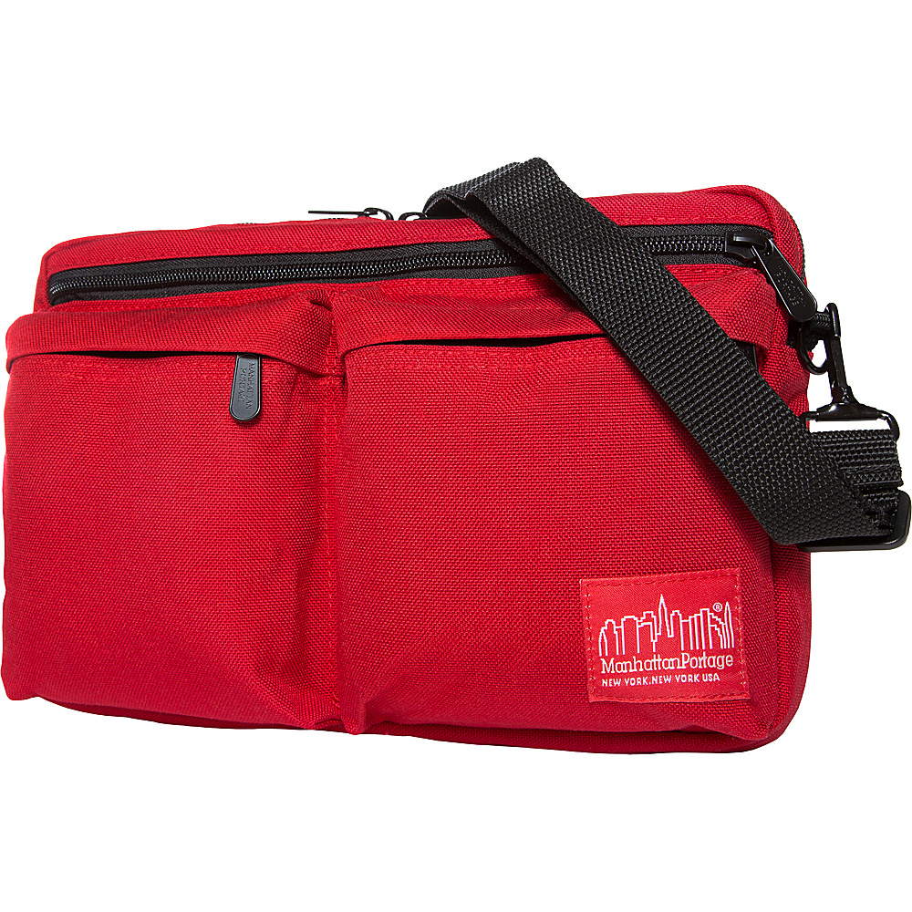 Manhattan Portage Albany Shoulder Bag Red - Manhattan Portage Other Mens Bags - Work Bags & Briefcases, Other Men's Bags