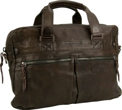 Image of Andrew Marc Collection Bowery Top Handle Smog - Andrew Marc Collection Non-Wheeled Business Cases