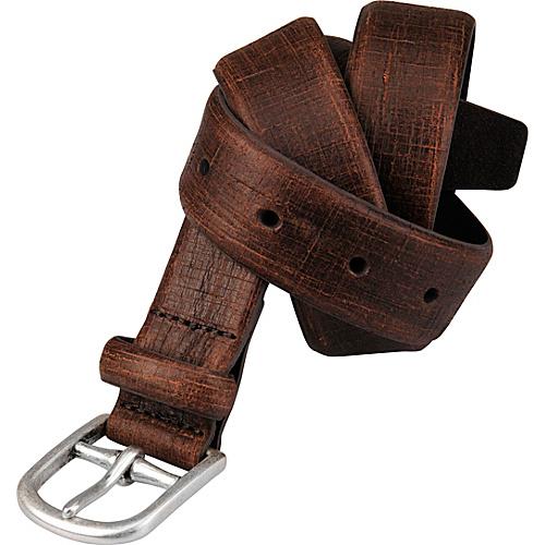Andrew Marc Collection 32mm Laos Daytona Belt Dark Brown (38) - Andrew Marc Collection Belts
