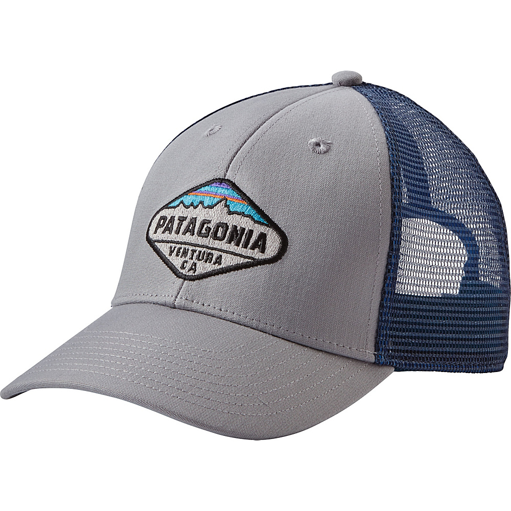 Patagonia Fitz Roy Crest LoPro Trucker Hat One Size - Drifter Grey - Patagonia Hats/Gloves/Scarves - Fashion Accessories, Hats/Gloves/Scarves