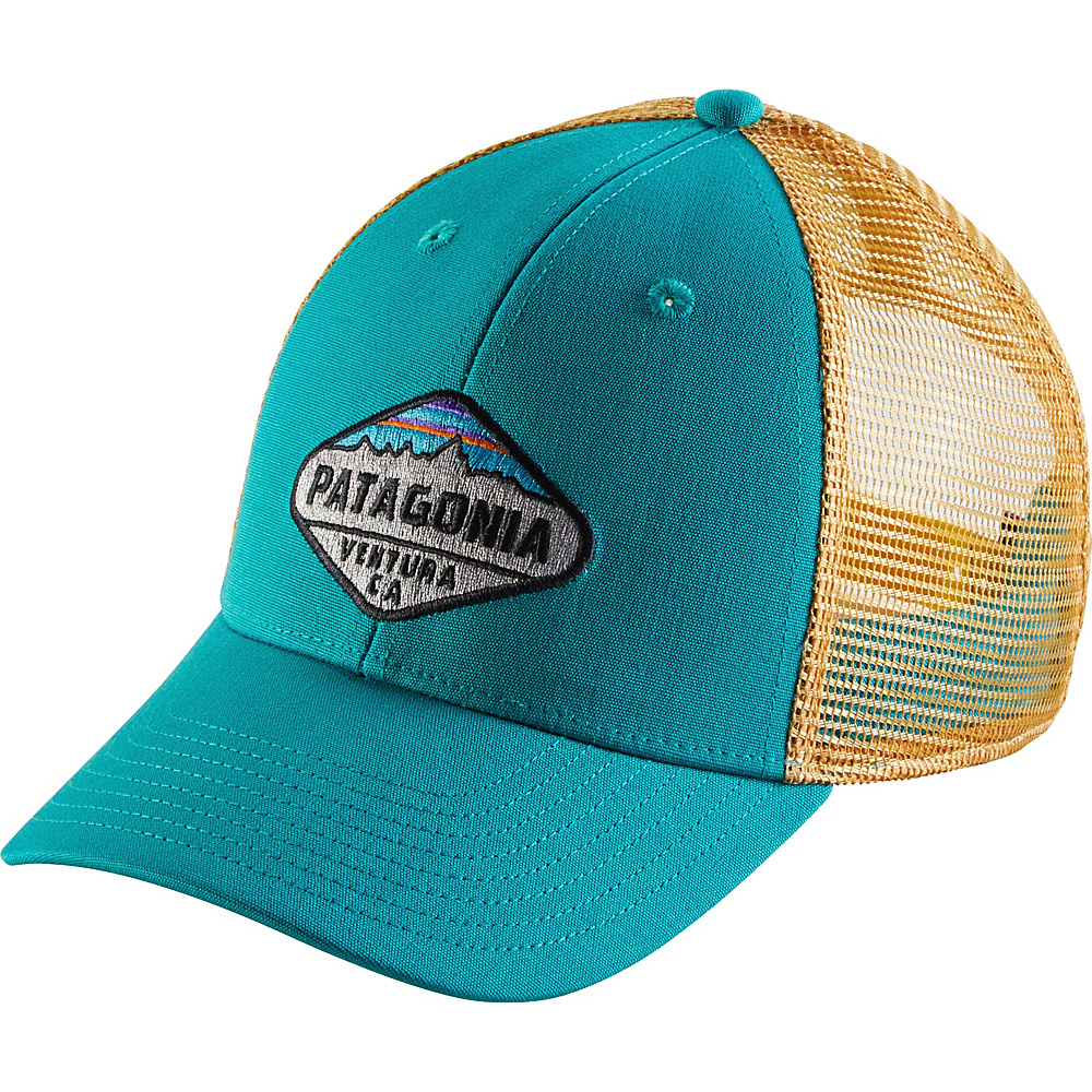 Patagonia Fitz Roy Crest LoPro Trucker Hat One Size - True Teal - Patagonia Hats/Gloves/Scarves - Fashion Accessories, Hats/Gloves/Scarves