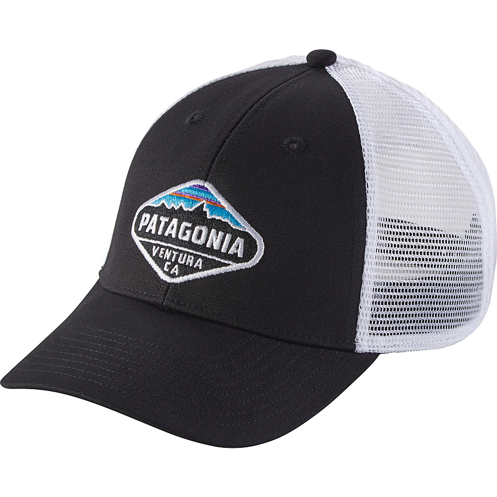 Patagonia Fitz Roy Crest LoPro Trucker Hat One Size - Black - Patagonia Hats/Gloves/Scarves - Fashion Accessories, Hats/Gloves/Scarves