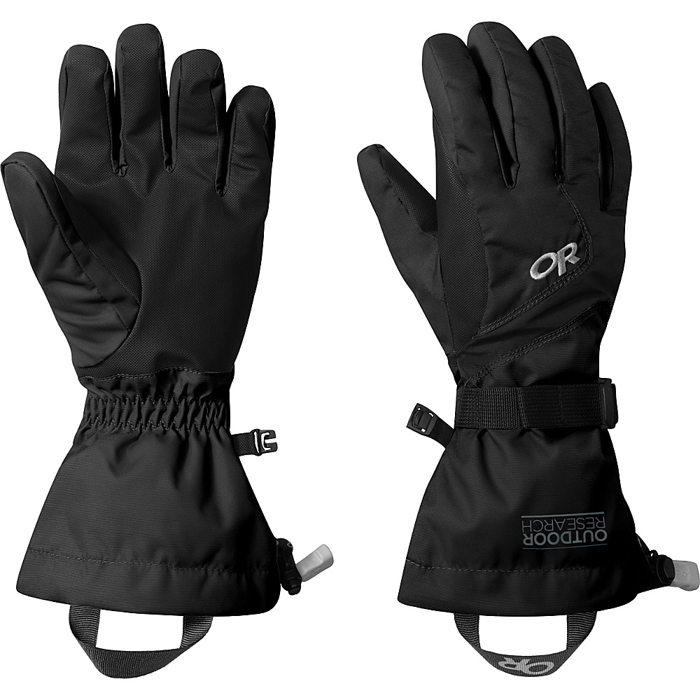 Outdoor Research Adrenaline Gloves  Womens L - Black - Outdoor Research Hats/Gloves/Scarves - Fashion Accessories, Hats/Gloves/Scarves