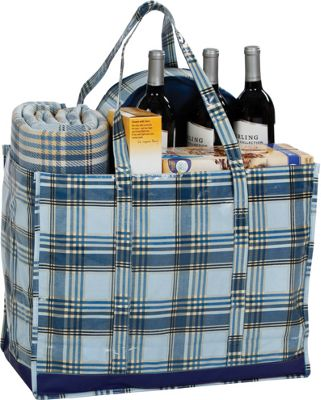 Image of Picnic Plus Moxie Family Tote VARSITY PLAID - Picnic Plus All-Purpose Totes