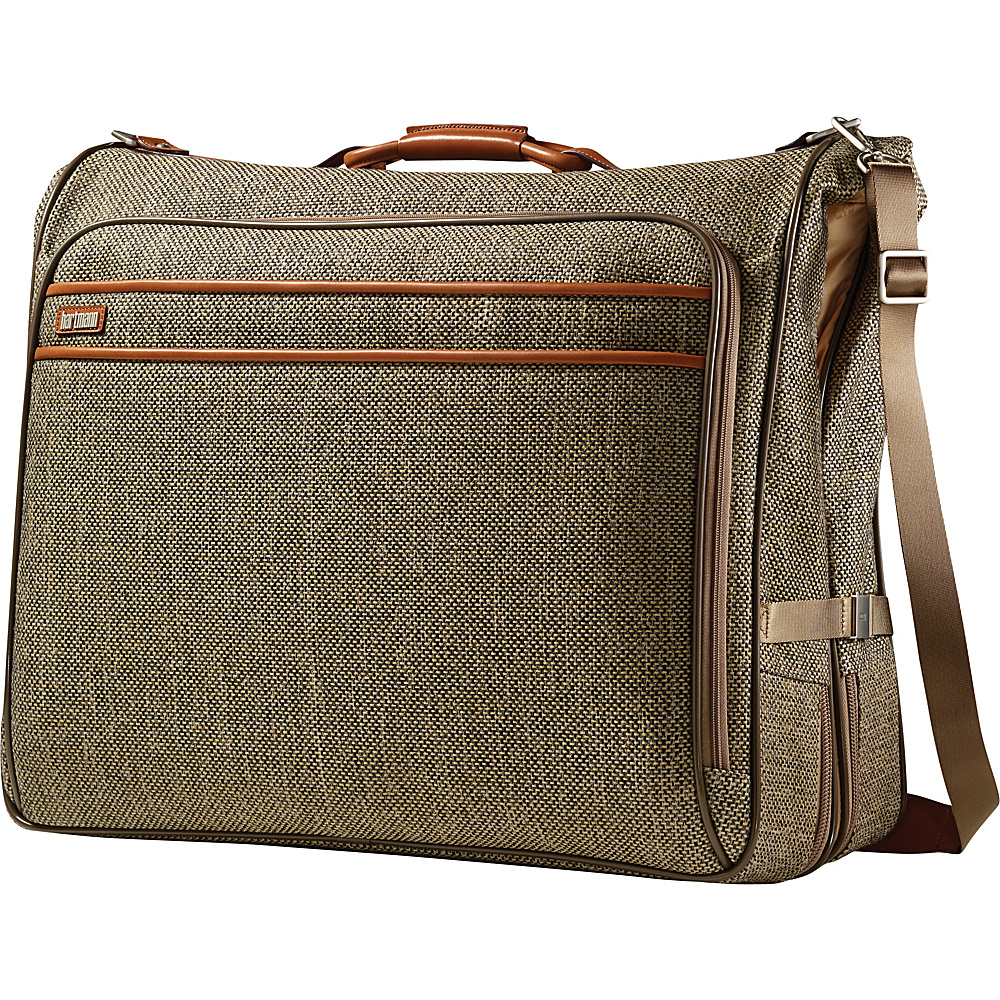 "Hartmann Luggage Tweed Collection 26"" Large Wheeled Garment Bag Walnut Tweed - Hartmann Luggage Garment Bags"