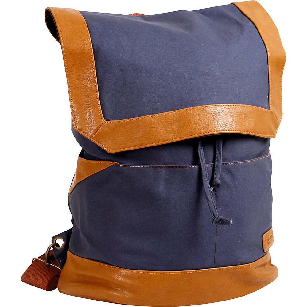 J World New York Alex Canvas Backpack Navy - J World New York Everyday Backpacks - Backpacks, Everyday Backpacks