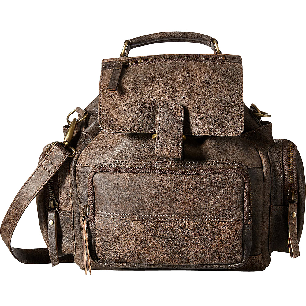 Latico Leathers Felix Backpack Distressed Brown - Latico Leathers Leather Handbags - Handbags, Leather Handbags
