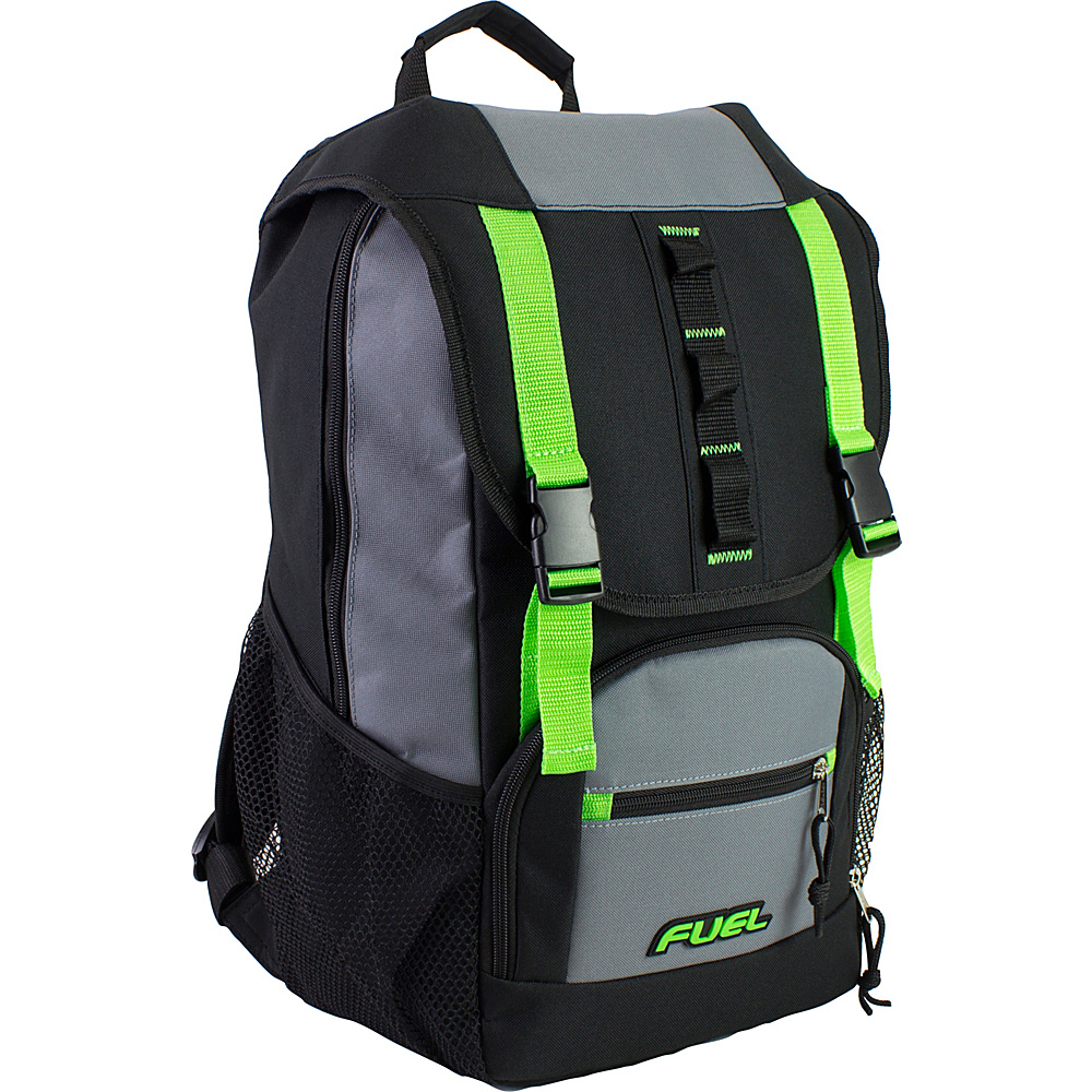 Fuel Shelter Backpack Lime Sizzle Fuel Everyday Backpacks