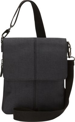 Sacs Collection by Annette Ferber Excursion-Expandable Cross Body Bag Black - Sacs Collection by Annette Ferber Fabric Handbags