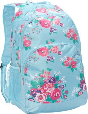 Image of All For Color Backpack Floral Delight - All For Color School & Day Hiking Backpacks