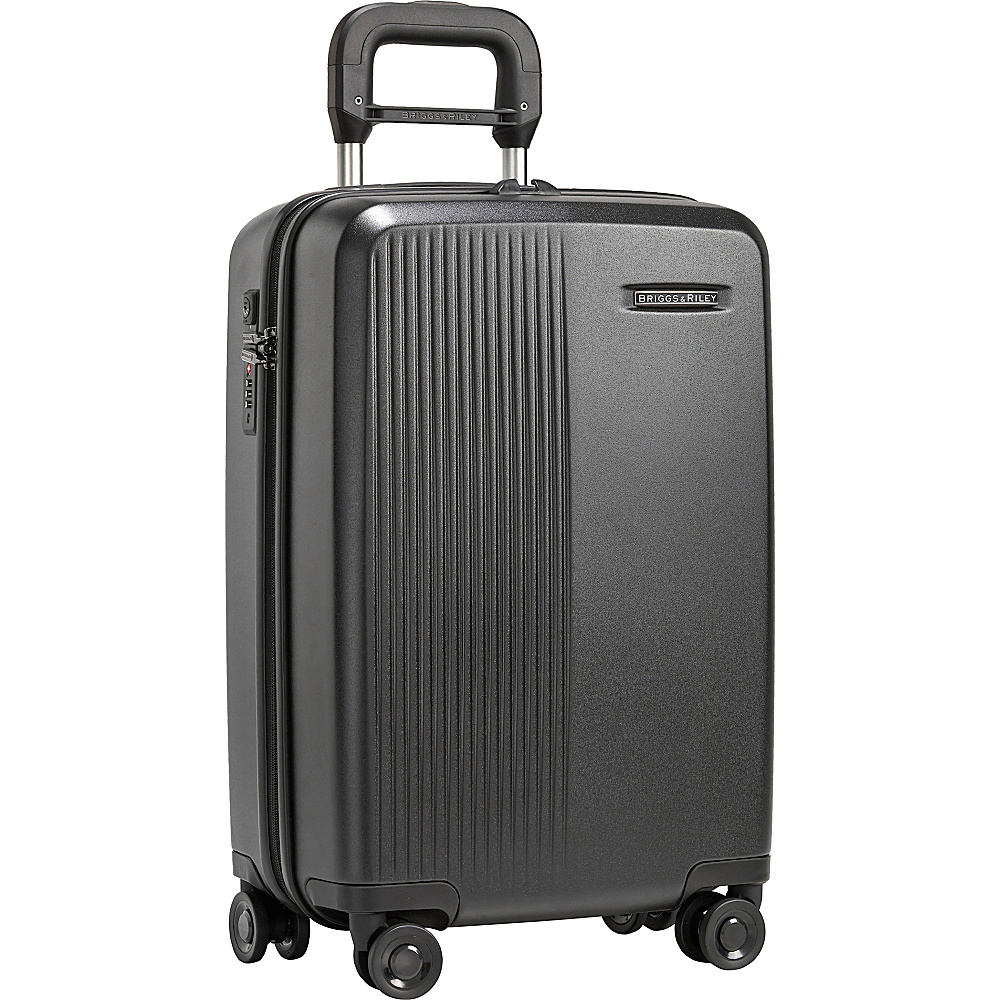 "Briggs & Riley Sympatico 21"" International Carry-On Spinner Black - Briggs & Riley Hardside Carry-On"