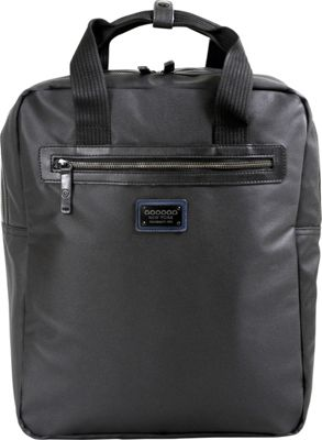 J World New York Houston Business Backpack Black - J World New York Laptop Backpacks