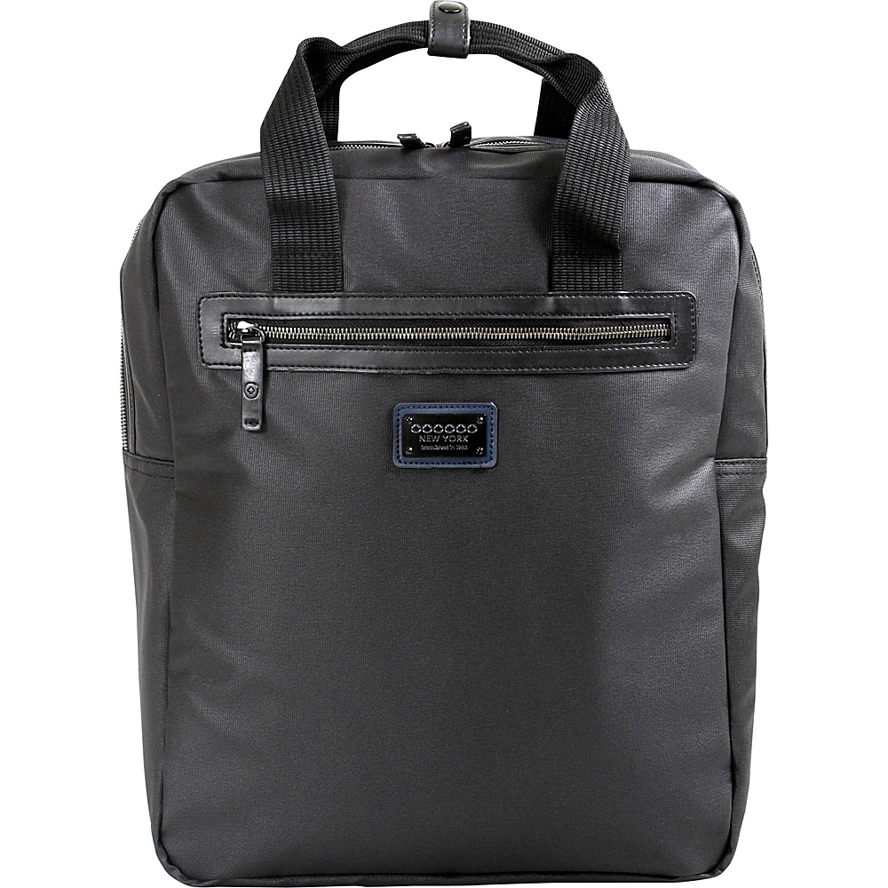 J World New York Houston Business Backpack Black - J World New York Business & Laptop Backpacks - Backpacks, Business & Laptop Backpacks