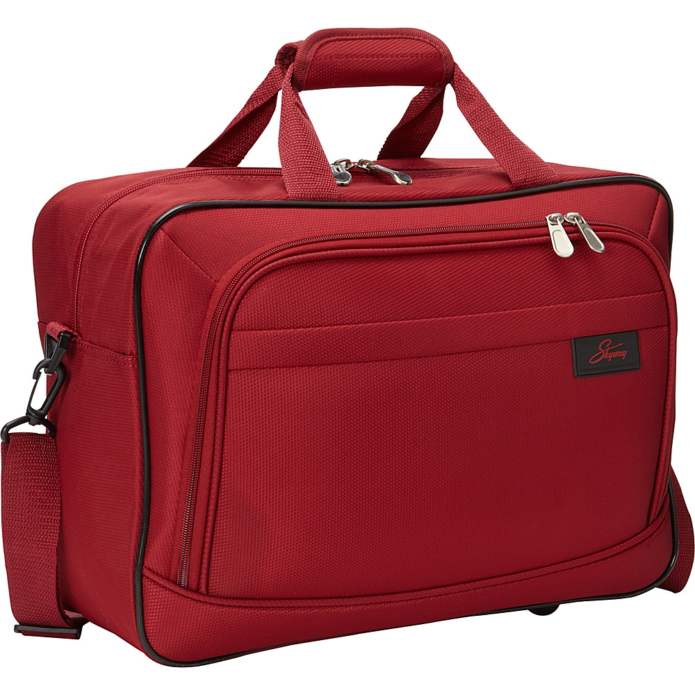"Skyway Sigma 5.0 16"" Shoulder Tote Merlot Red - Skyway Luggage Totes and Satchels"