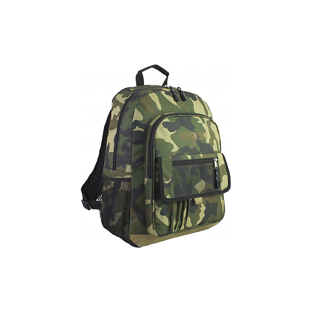Eastsport Basic Tech Backpack Camo Eastsport Business Laptop Backpacks