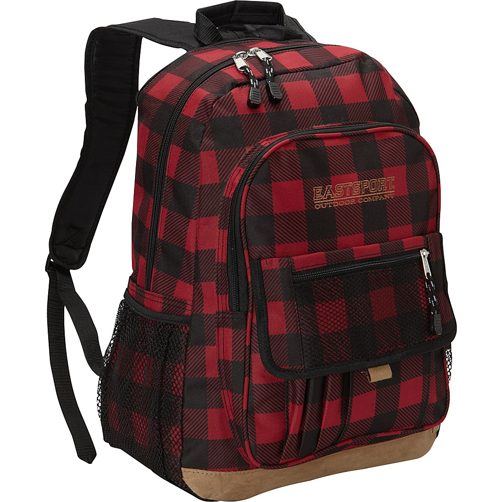 Eastsport Basic Tech Backpack Plaid Eastsport Business Laptop Backpacks