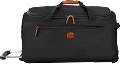 BRIC'S X-Bag 28 Rolling Duffle Black - BRIC'S Large Rolling Luggage