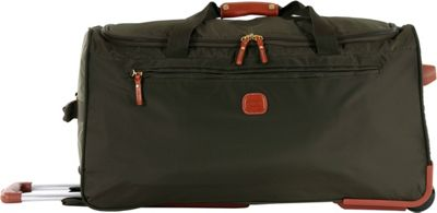 BRIC'S X-Bag 28 Rolling Duffle Olive - BRIC'S Large Rolling Luggage