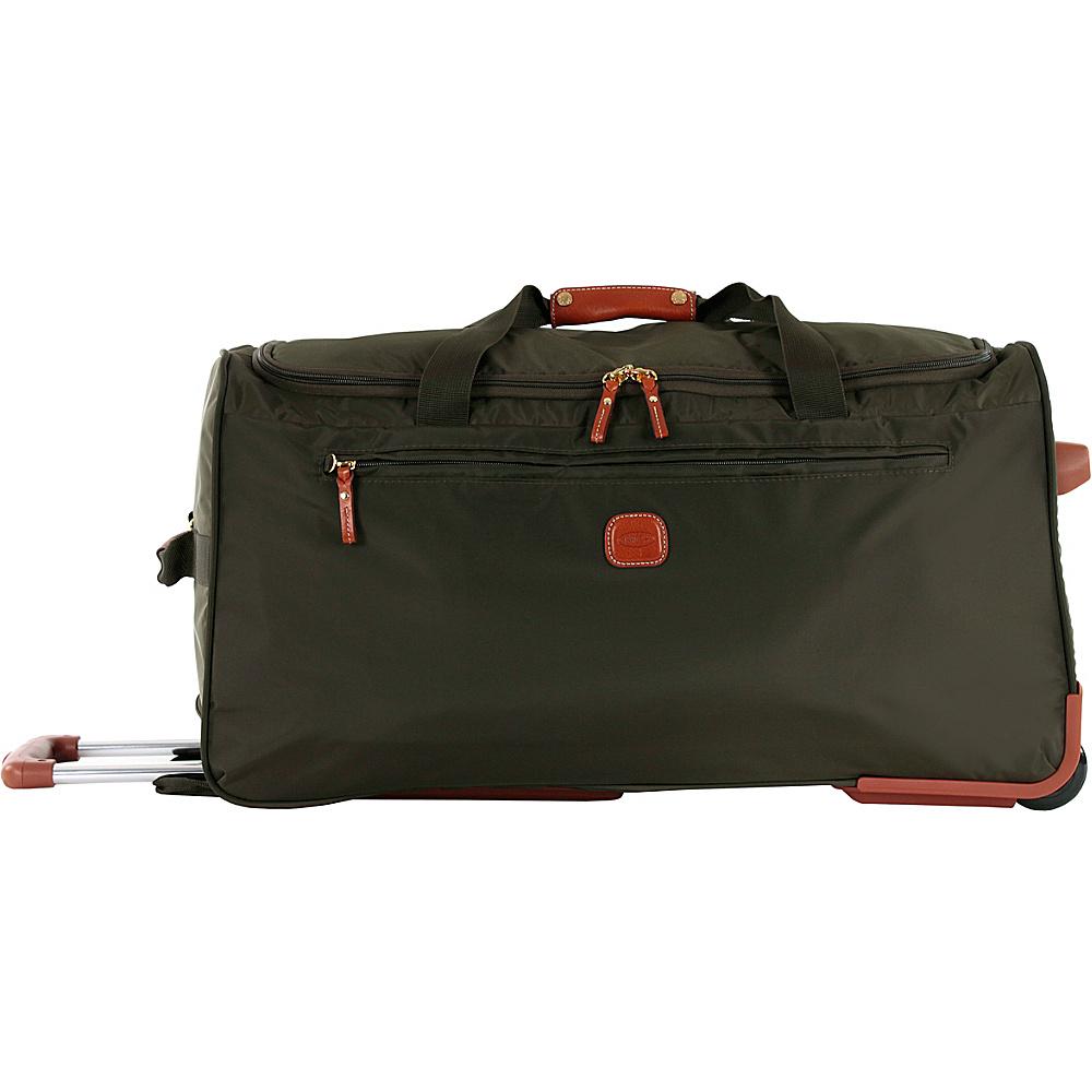 BRIC S X Bag 28 Rolling Duffle Olive BRIC S Rolling Duffels