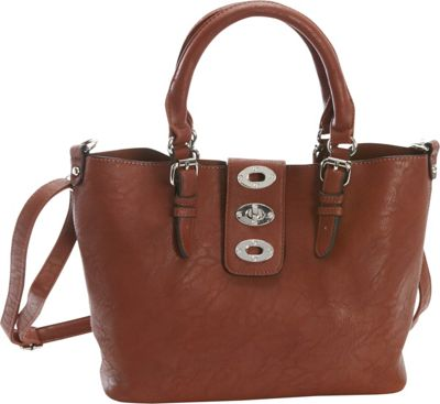 Diophy Diophy Adjustable Bag-in-Bag Tote Brown - Diophy Manmade Handbags